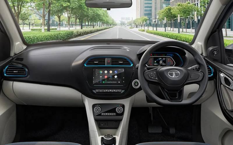 Tata Tigor EV interior
