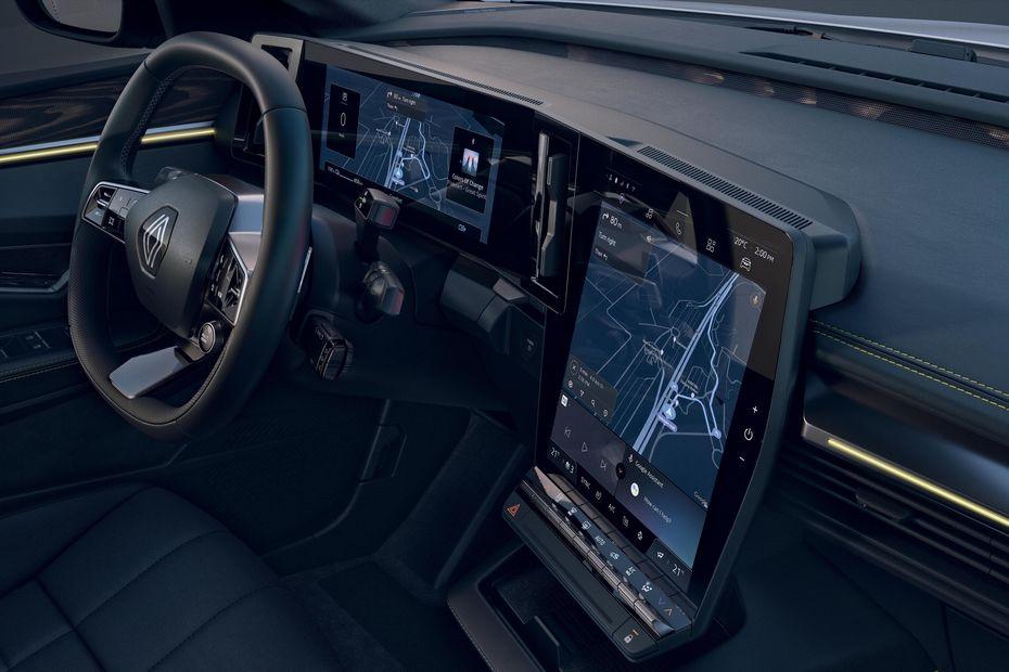 Interior Renault Megane E-TECH Electric