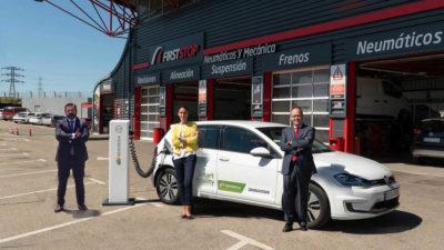 Iberdrola y First Stop desplegarán este año una red de 50 puntos de recarga rápida en España y Portugal
