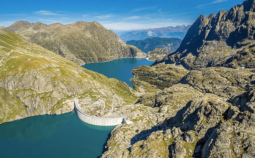 Hidroélectrica de Suiza Nant Drance