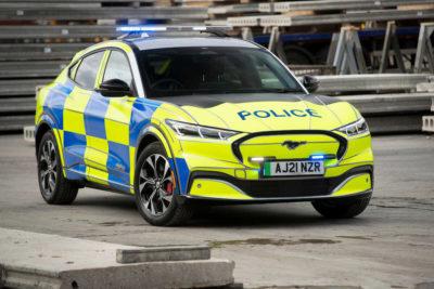 El Ford Mustang Mach-E se prepara para ser coche patrulla de policía en Europa y Norteamérica