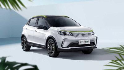 Geely presenta en China el Geometry EX3, un coche eléctrico «para las masas»