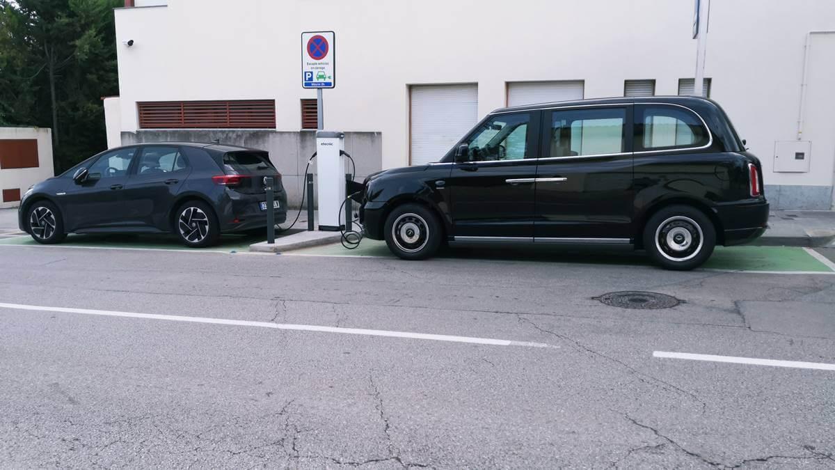 LEVC TX prueba taxi eléctrico
