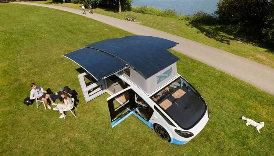 stella vita coche eléctrico solar