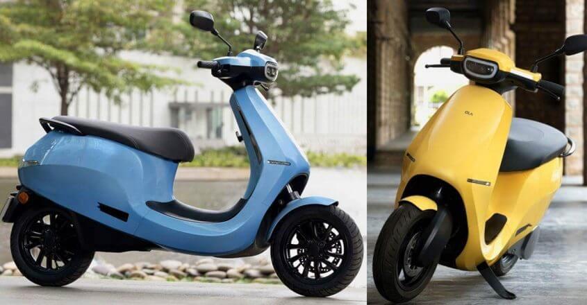 ola s1 scooter eléctrico éxito ventas