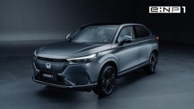 Se filtran las especificaciones de los Honda e: NP1 y e: NS1, las versiones eléctricas del HR-V