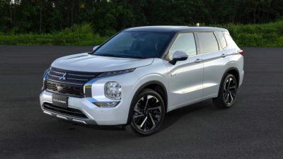 Mitsubishi Outlander PHEV 2022, las imágenes de su diseño definitivo