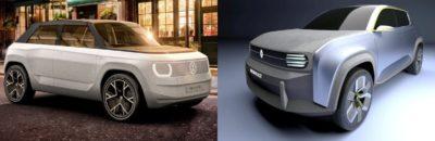 Renault 4EVer vs Volkswagen ID.2: duelo de SUV eléctricos económicos
