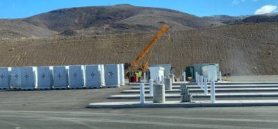 Tesla comienza a construir el primer Megacargador para el camión eléctrico Semi